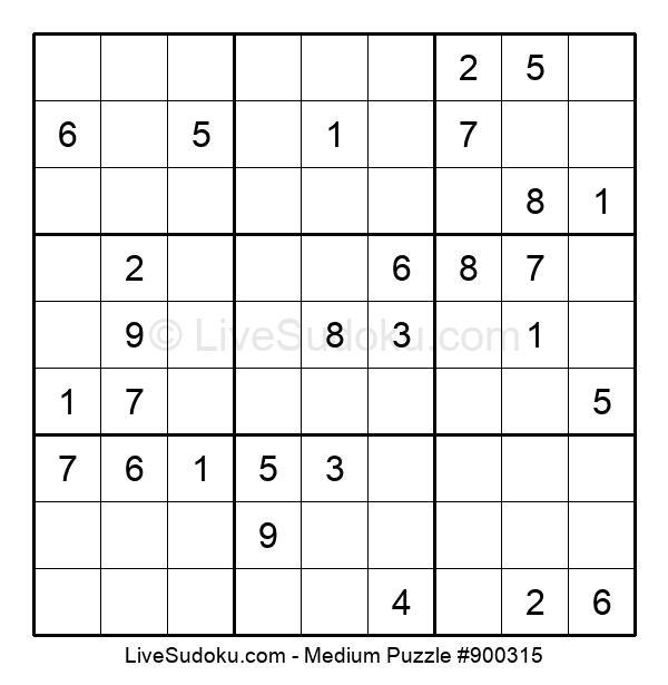 Medium Puzzle #900315