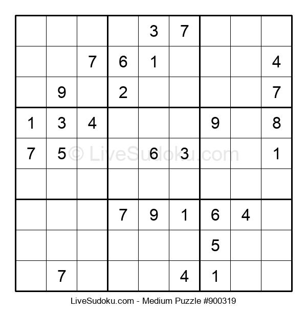 Medium Puzzle #900319