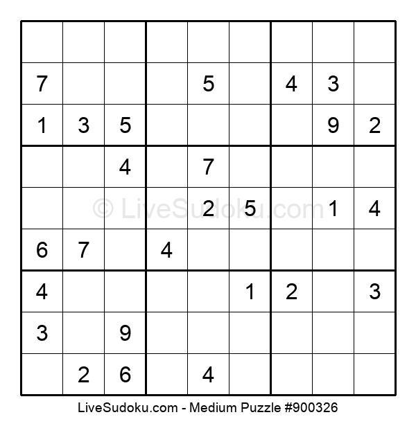 Medium Puzzle #900326