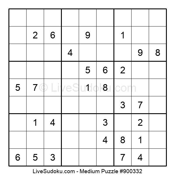 Medium Puzzle #900332
