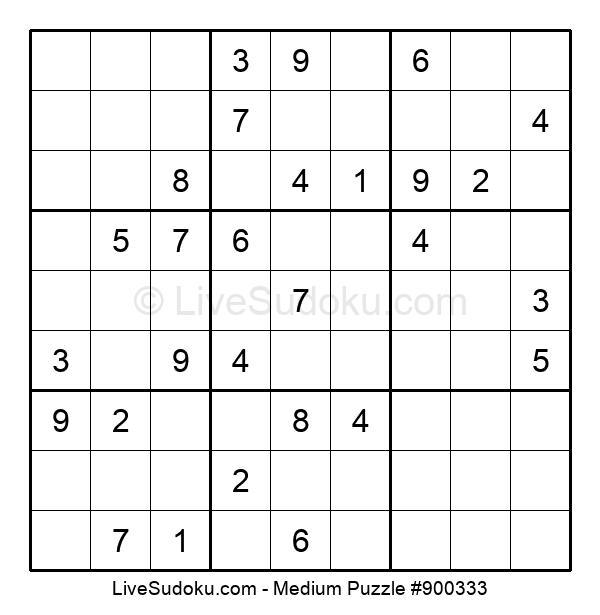 Medium Puzzle #900333
