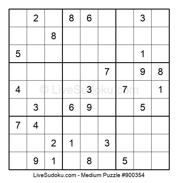 Medium Puzzle #900354