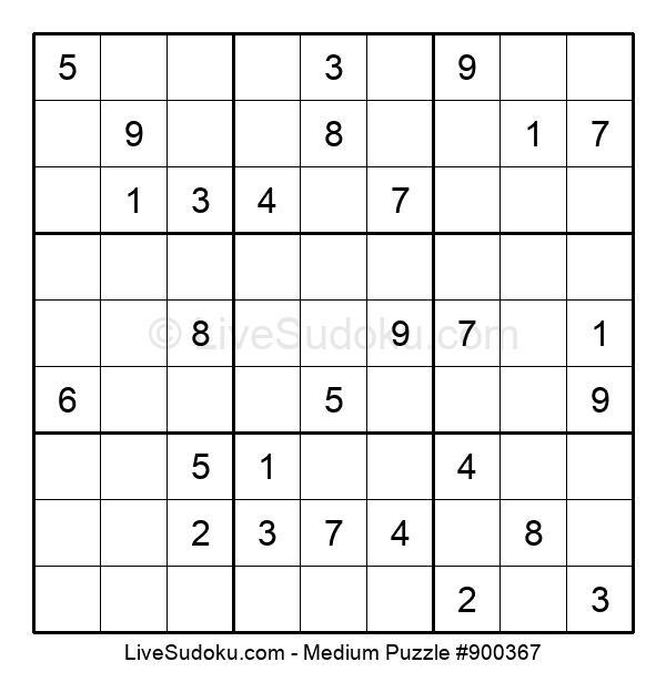 Medium Puzzle #900367