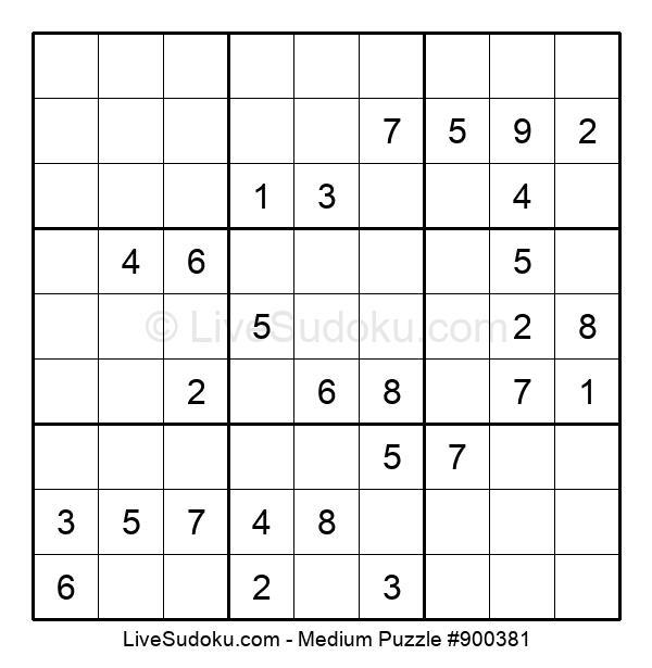 Medium Puzzle #900381