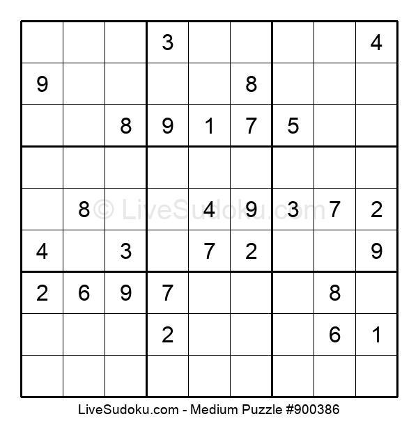 Medium Puzzle #900386