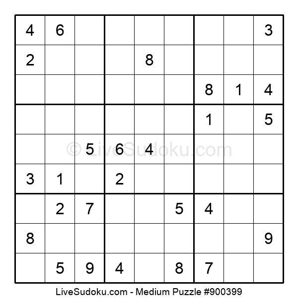 Medium Puzzle #900399