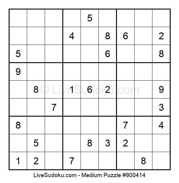 Medium Puzzle #900414
