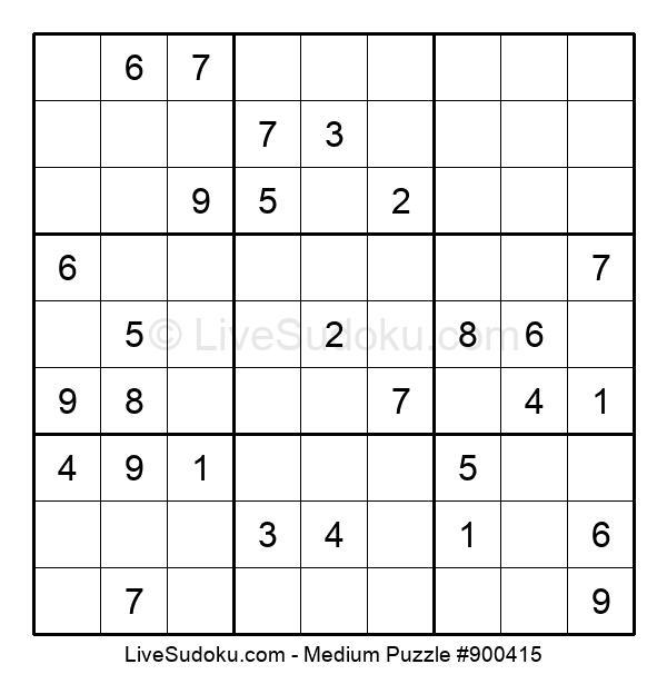 Medium Puzzle #900415