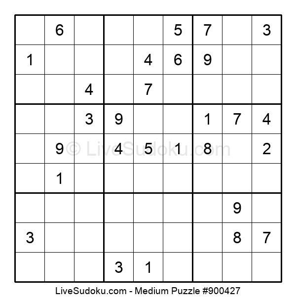 Medium Puzzle #900427