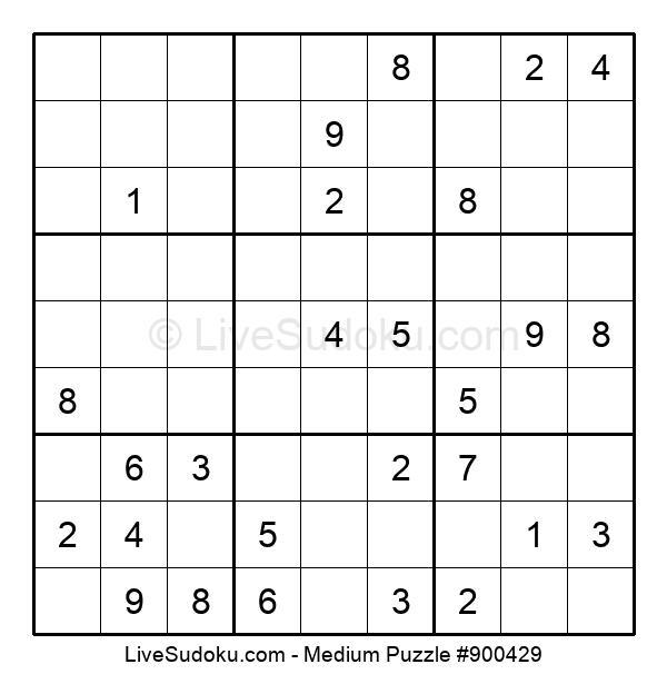 Medium Puzzle #900429