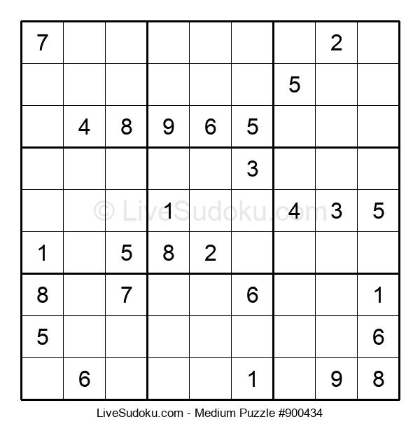 Medium Puzzle #900434