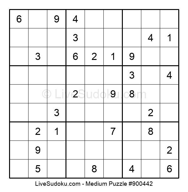 Medium Puzzle #900442