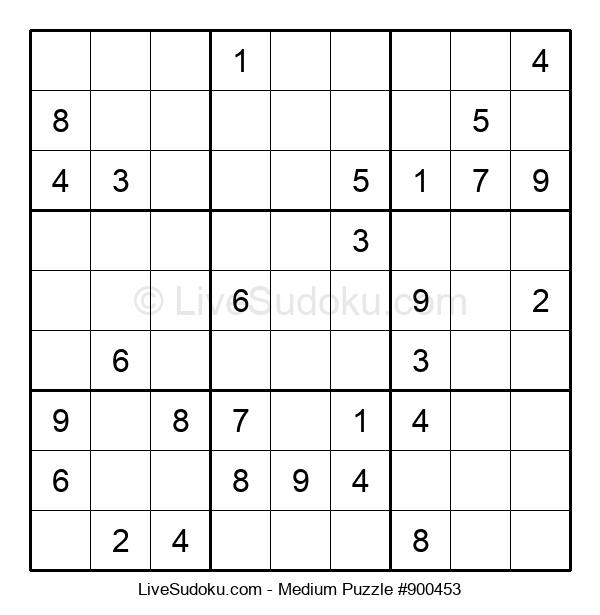 Medium Puzzle #900453