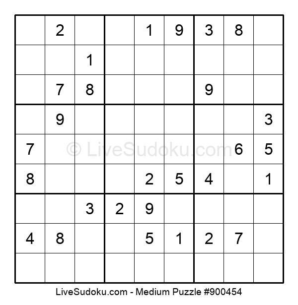 Medium Puzzle #900454