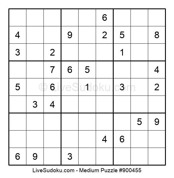 Medium Puzzle #900455
