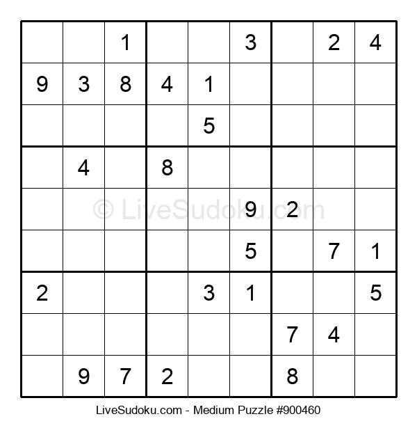 Medium Puzzle #900460