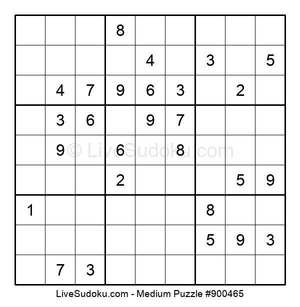 Medium Puzzle #900465
