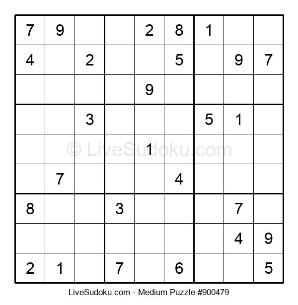Medium Puzzle #900479