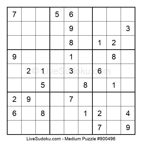Medium Puzzle #900496