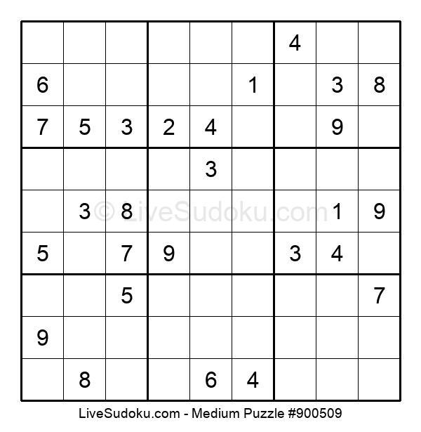 Medium Puzzle #900509