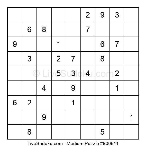 Medium Puzzle #900511