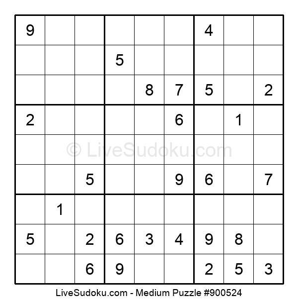 Medium Puzzle #900524