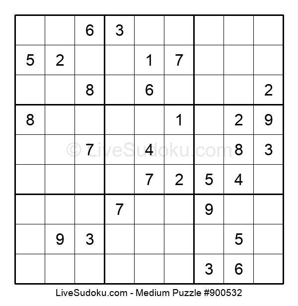 Medium Puzzle #900532