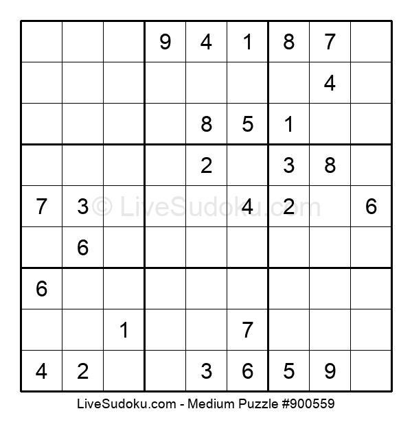 Medium Puzzle #900559