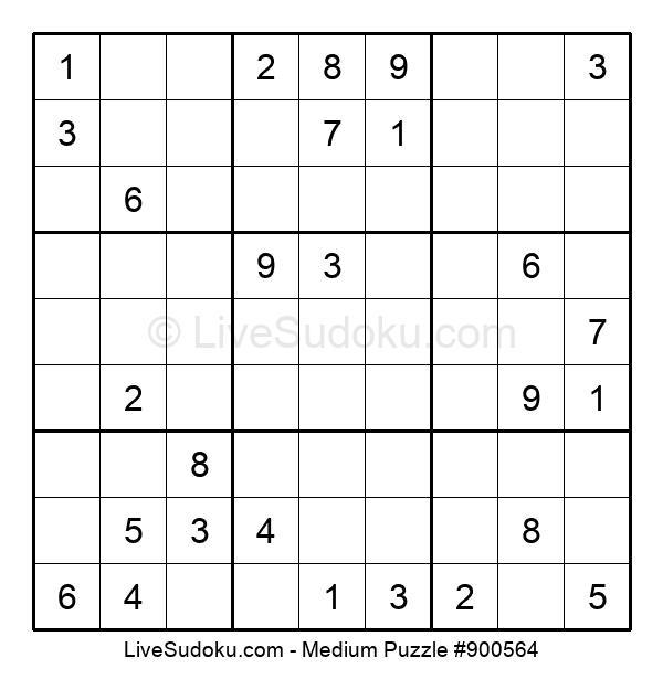Medium Puzzle #900564