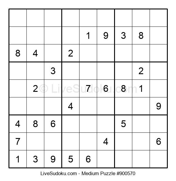 Medium Puzzle #900570