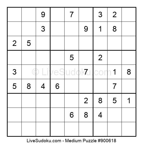 Medium Puzzle #900618