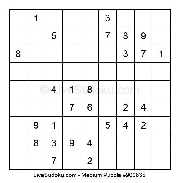Medium Puzzle #900635