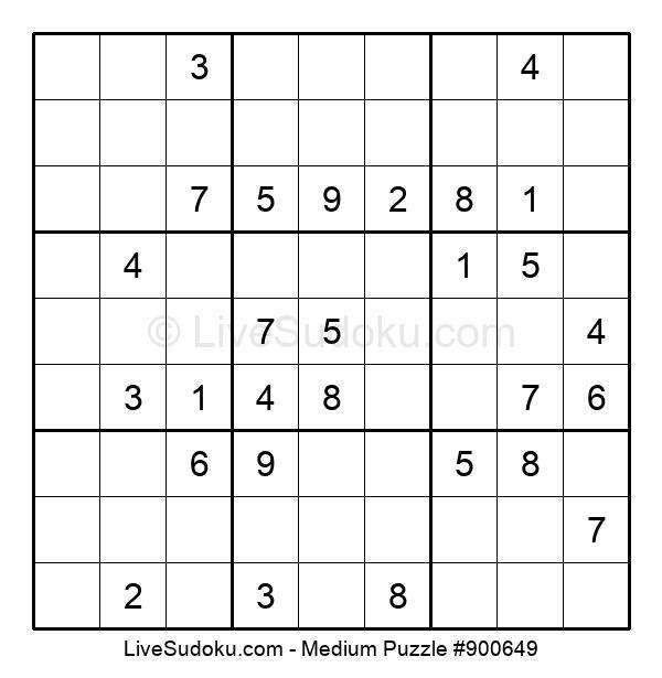 Medium Puzzle #900649