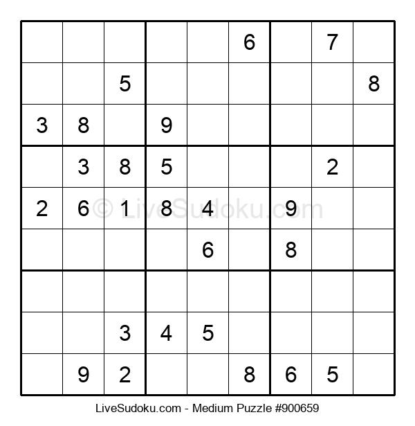 Medium Puzzle #900659