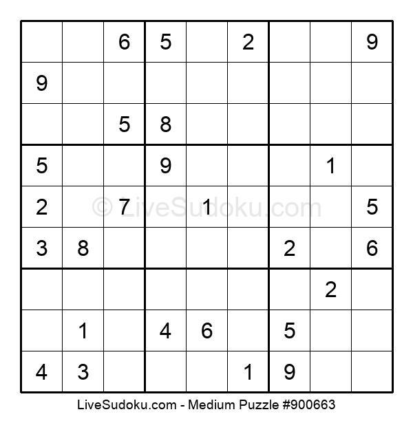 Medium Puzzle #900663