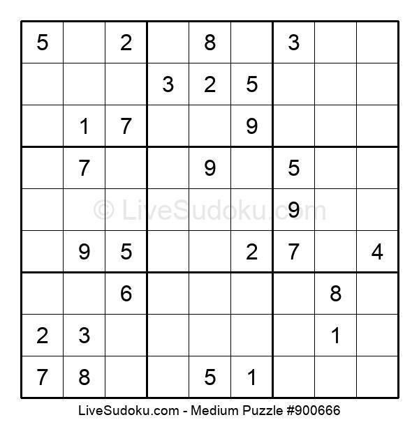 Medium Puzzle #900666