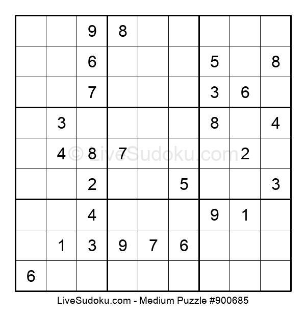 Medium Puzzle #900685