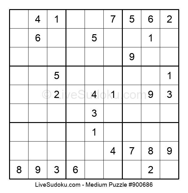 Medium Puzzle #900686