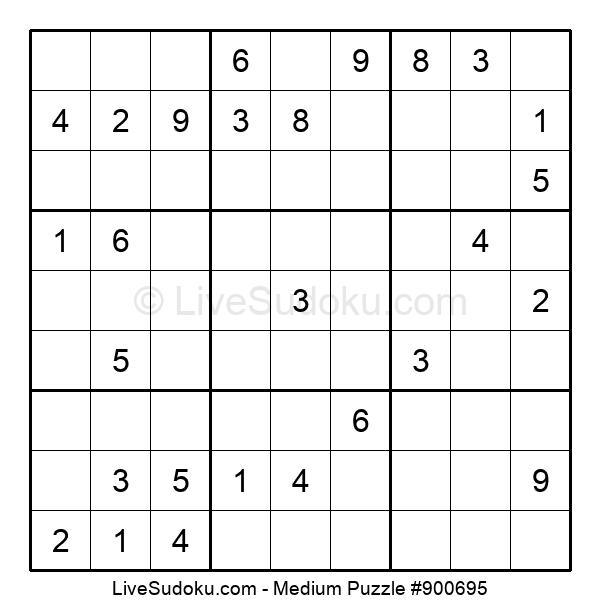 Medium Puzzle #900695