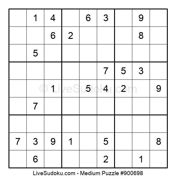 Medium Puzzle #900698
