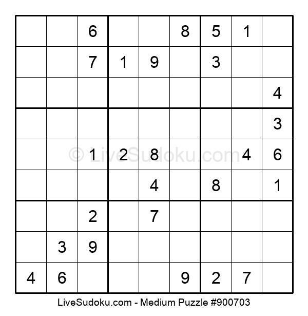 Medium Puzzle #900703