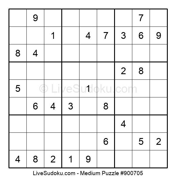 Medium Puzzle #900705