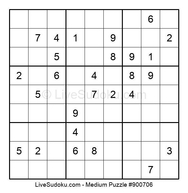 Medium Puzzle #900706