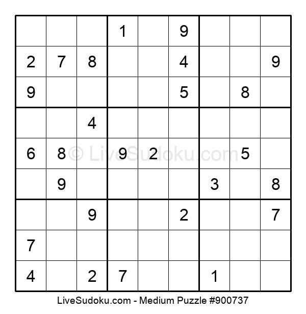 Medium Puzzle #900737