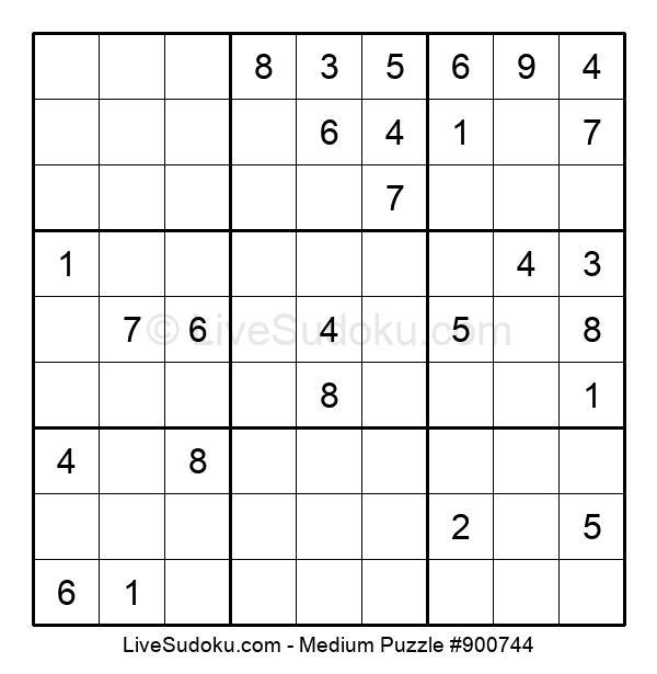 Medium Puzzle #900744