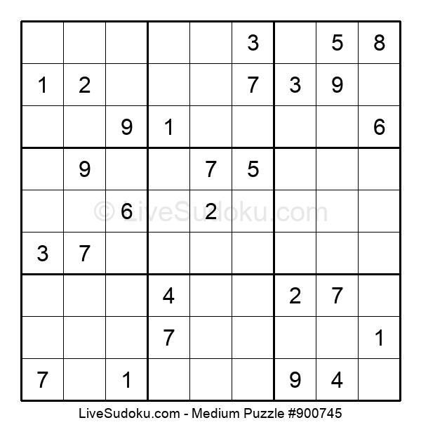 Medium Puzzle #900745