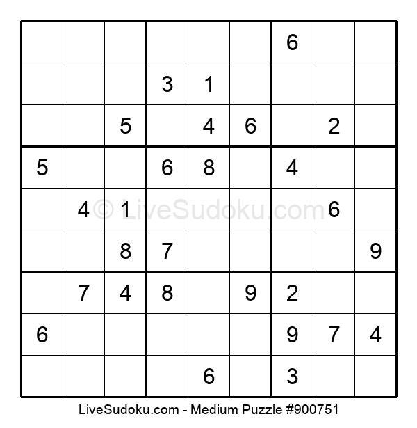 Medium Puzzle #900751