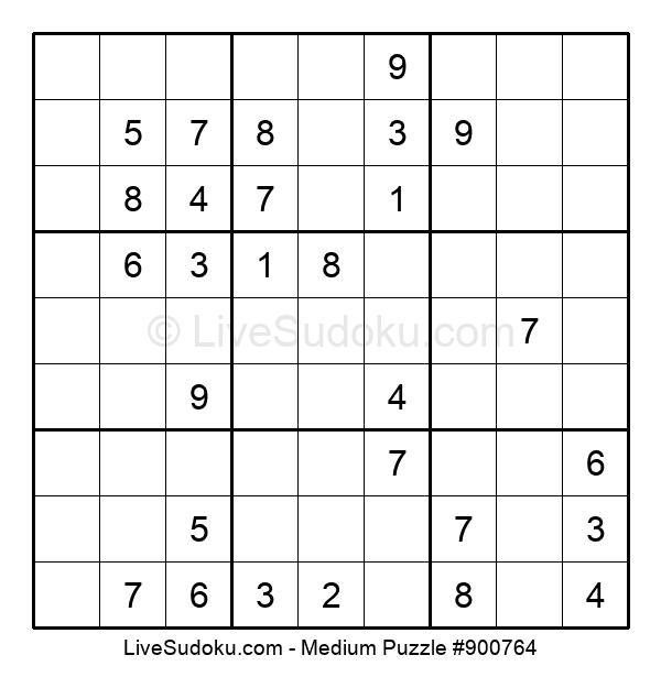 Medium Puzzle #900764