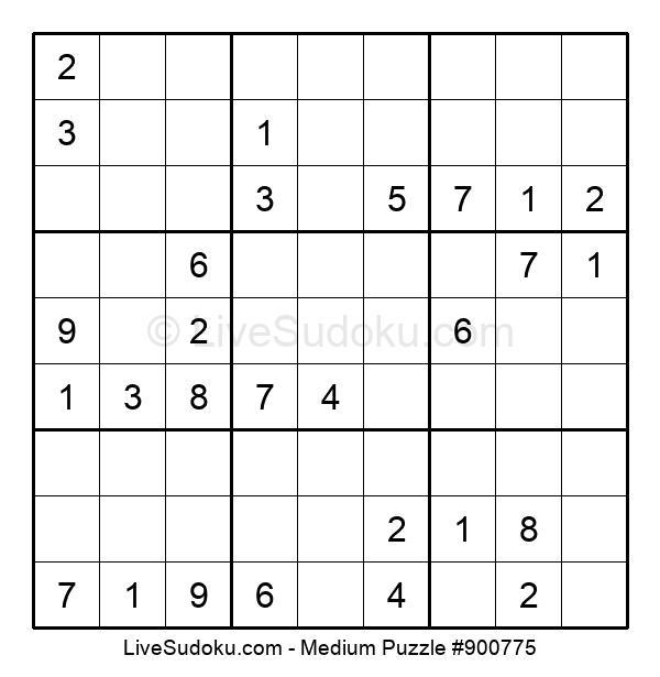 Medium Puzzle #900775