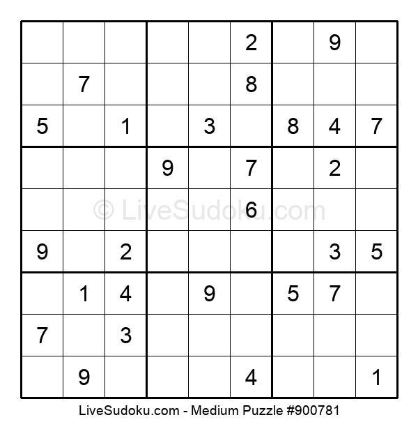 Medium Puzzle #900781